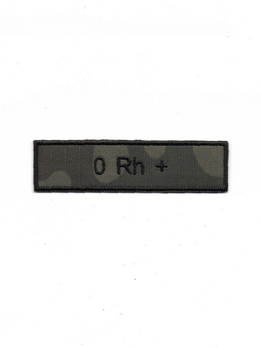 Produkt naszywka grupa krwi 0 Rh+