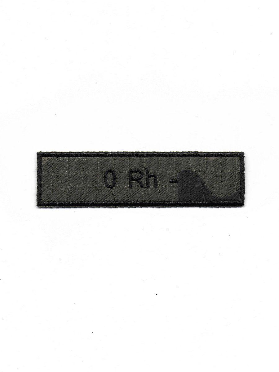 Produkt naszywka grupa krwi 0 Rh-