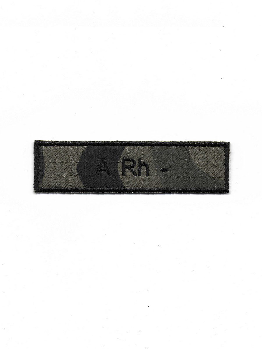 Produkt naszywka grupa krwi A Rh-
