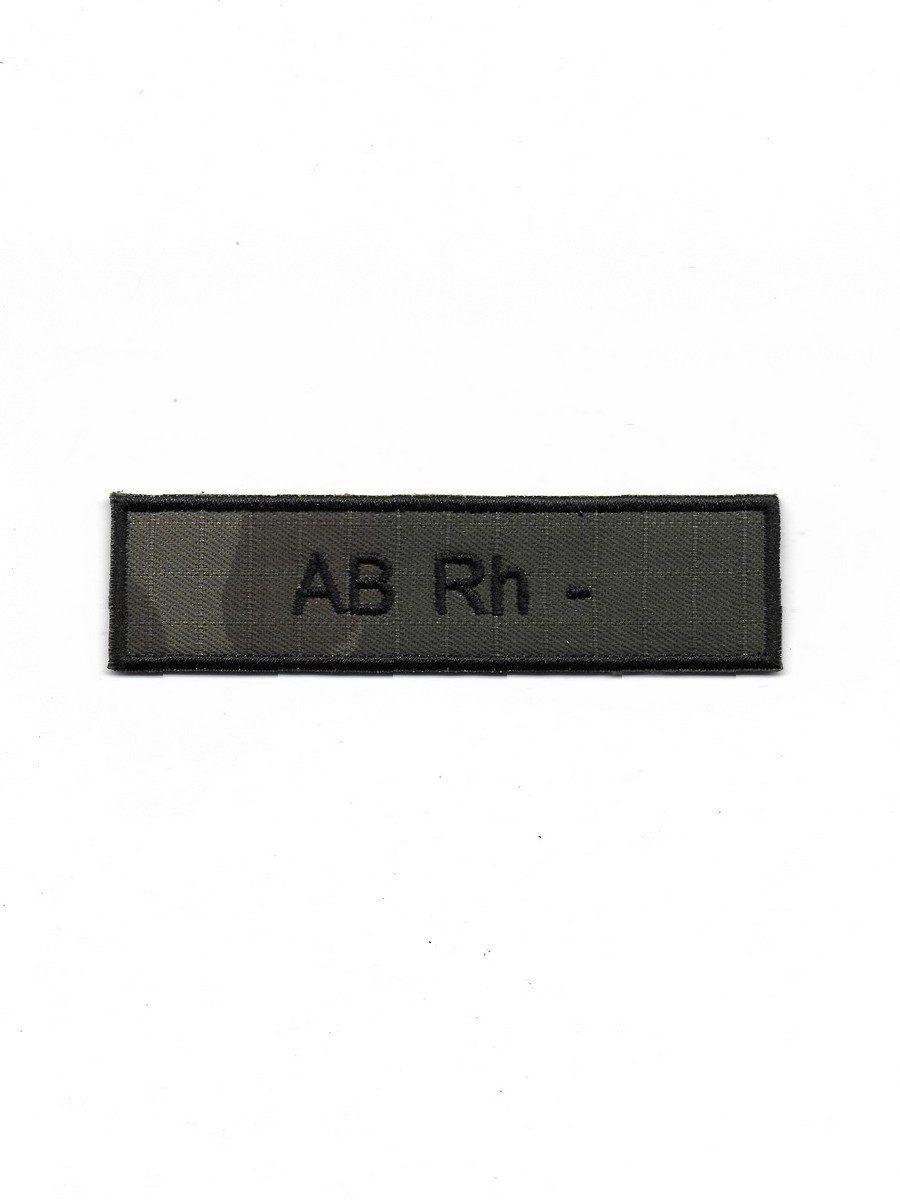 Produkt naszywka grupa krwi AB Rh-