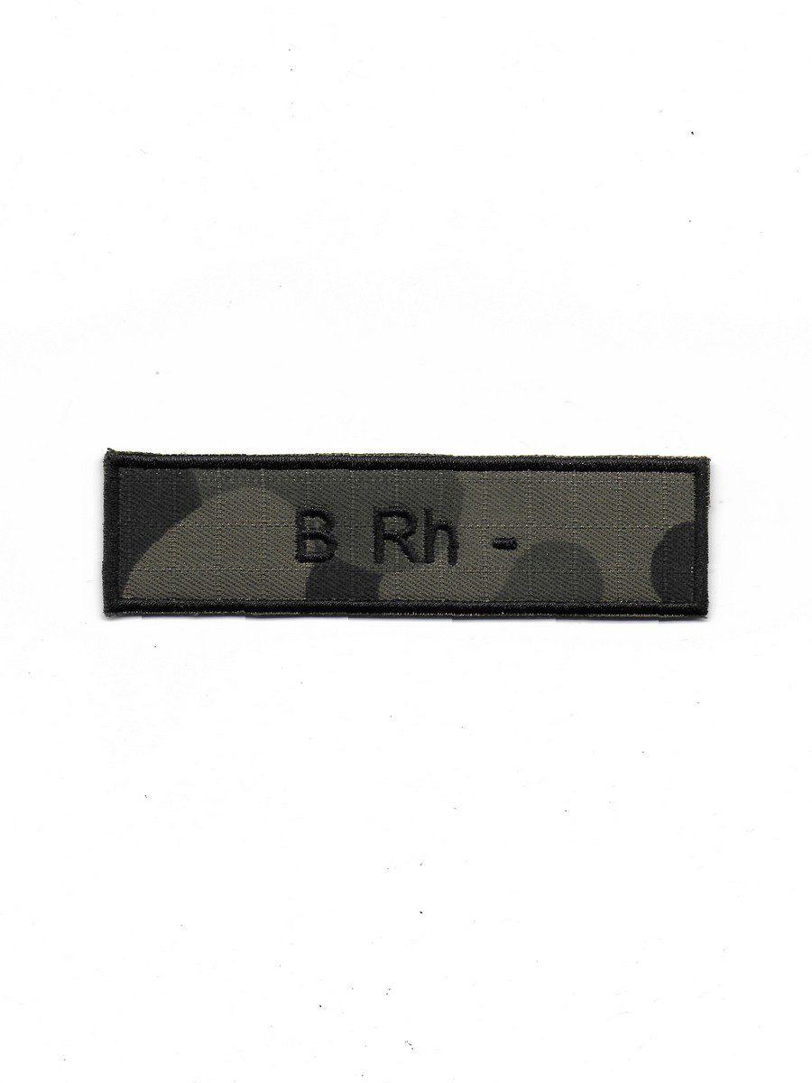 Produkt naszywka grupa krwi B Rh-