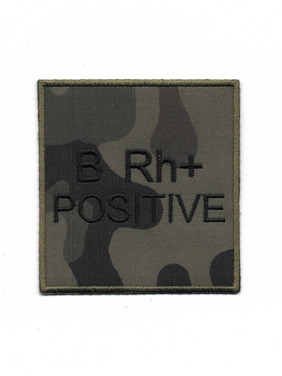 Produkt naszywka grupa krwi B Rh+