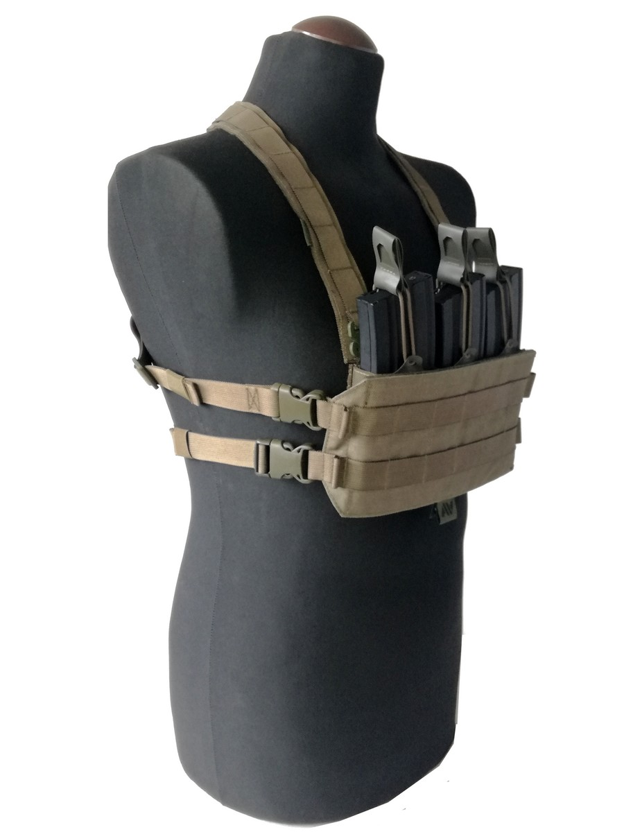 Chest Rig Ranger Green Angry Warrior 1